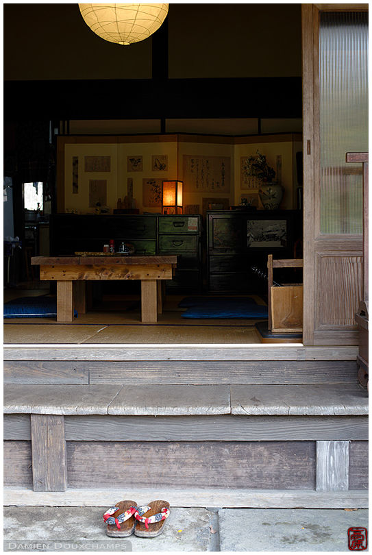 Local restaurant in Kokichi hot spring