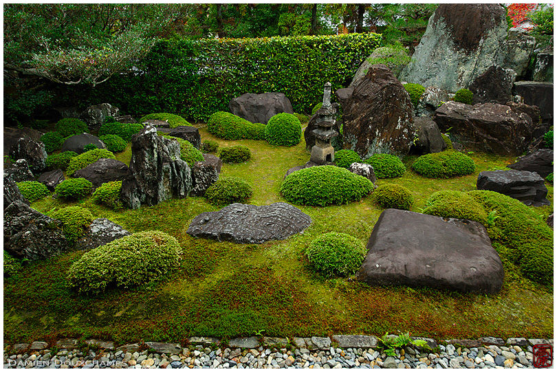 Rock garden, Shuon-an temple