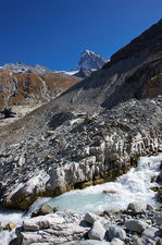 Dent Blanche and meltwater stream