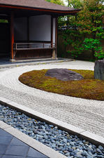Terrace on zen garden (Ryogen-in 龍源院)