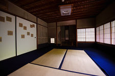 Traditional Japanese room in Raigo-in temple