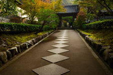 Path leading to Saisho-in temple