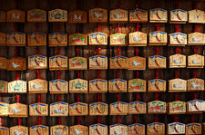 Ema votive offerings, Fushimi Inari shrine, Kyoto, Japan