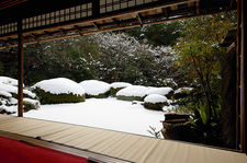 Winter in Shisendo-temple, Kyoto